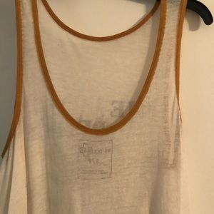 Free People Tops - Free People - We The Free Long Graphic Tank